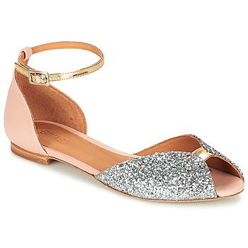 kengät Naiset Sandaalit ja avokkaat Emma Go JULIETTE Pink / Hopea / Kulta