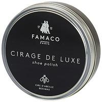 Asusteet / tarvikkeet Kengänkiillotteet Famaco Boite de cirage de luxe marron foncé 100 ml Brown / Fonce