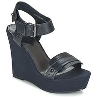 kengät Naiset Sandaalit ja avokkaat G-Star Raw CLARO WEDGE Laivastonsininen