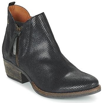 kengät Naiset Bootsit Coqueterra LIZZY Black