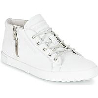 kengät Naiset Korkeavartiset tennarit Blackstone NL35 White