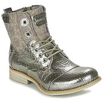 kengät Naiset Bootsit Bunker SARA Silver