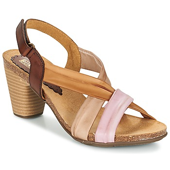 kengät Naiset Sandaalit ja avokkaat Bunker LIZ Brown / Pink