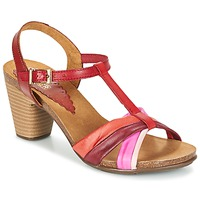 kengät Naiset Sandaalit ja avokkaat Bunker LIZ Red / Pink