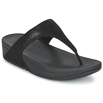 kengät Naiset Varvassandaalit FitFlop SHIMMY SUEDE TOE-POST Black