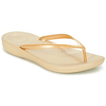 kengät Naiset Varvassandaalit FitFlop IQUSHION ERGONOMIC FLIP-FLOPS Gold