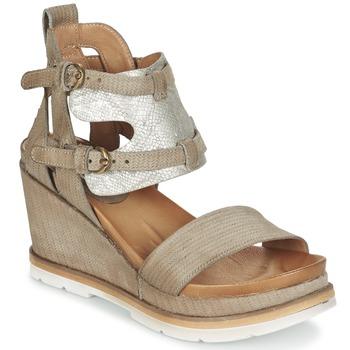 kengät Naiset Sandaalit ja avokkaat Mjus APRIL TAUPE / Argenté