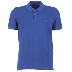 vaatteet Miehet Lyhythihainen poolopaita Benetton FOBIKA Blue