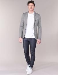 vaatteet Miehet Slim-farkut Benetton JUSKU Blue