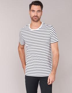 vaatteet Miehet Lyhythihainen t-paita Benetton MAKOUL Blue / White