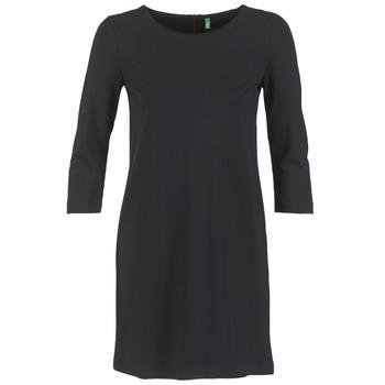 vaatteet Naiset Lyhyt mekko Benetton SAVONI Black