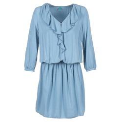 vaatteet Naiset Lyhyt mekko Benetton AFIDOUL Blue