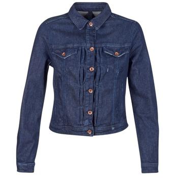 vaatteet Naiset Farkkutakki Benetton FESCAR Blue / Fonce