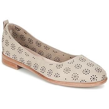 kengät Naiset Balleriinat Clarks ALANIA ROSA BEIGE