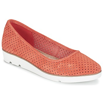 kengät Naiset Balleriinat Clarks EVIE BUZZ CORAIL