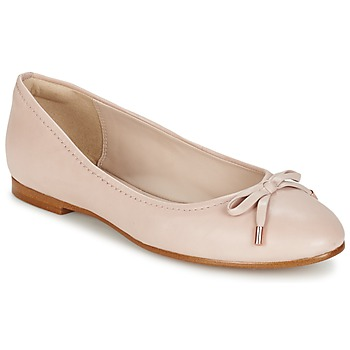 kengät Naiset Balleriinat Clarks GRACE LILY Pink