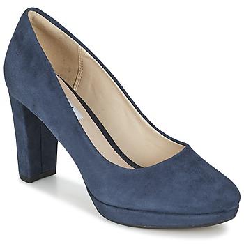 kengät Naiset Korkokengät Clarks KENDRA SIENNA Blue