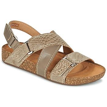 kengät Naiset Sandaalit ja avokkaat Clarks ROSILLA ESSEX Brown