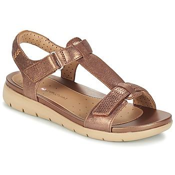 kengät Naiset Sandaalit ja avokkaat Clarks UN HAYWOOD Bronze