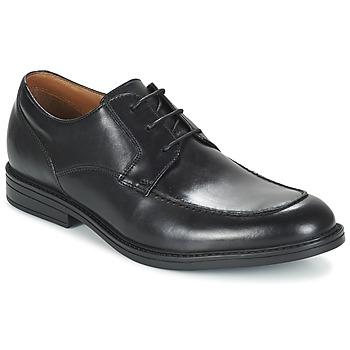 kengät Miehet Derby-kengät Clarks BECKFIELDAPRON Black