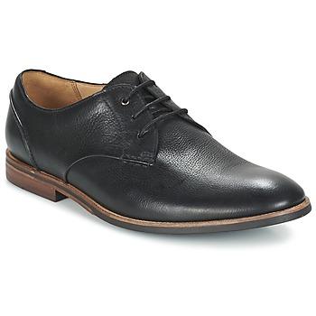 kengät Miehet Derby-kengät Clarks BROYD WALK Black