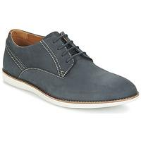 kengät Miehet Derby-kengät Clarks FRANSON PLAIN Blue