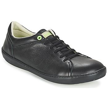 kengät Miehet Matalavartiset tennarit El Naturalista METEO Black