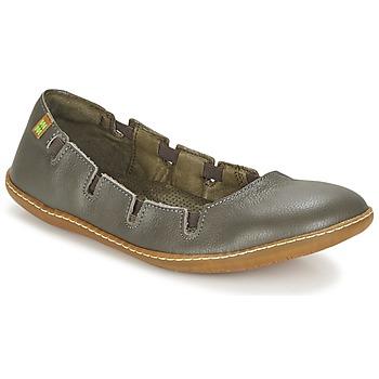 kengät Naiset Balleriinat El Naturalista EL VIAJERO Grey