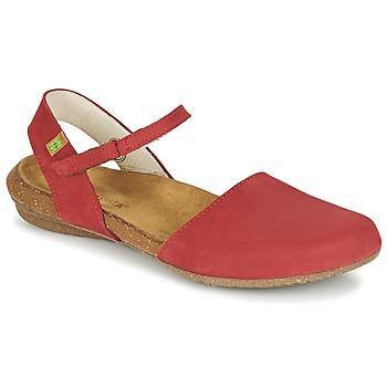 kengät Naiset Sandaalit ja avokkaat El Naturalista WAKATAUA Red