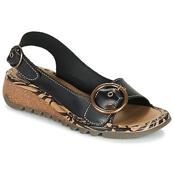 kengät Naiset Sandaalit ja avokkaat Fly London TRAMFLY Black