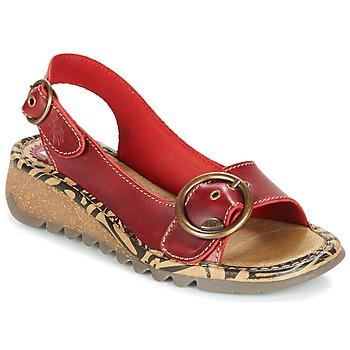 kengät Naiset Sandaalit ja avokkaat Fly London TRAMFLY Red