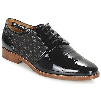 kengät Naiset Derby-kengät Heyraud ELEANA Black