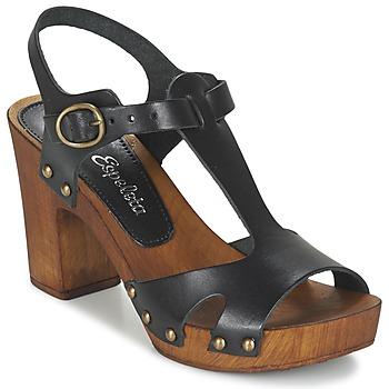 kengät Naiset Sandaalit ja avokkaat Lola Espeleta NICIA Black