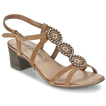 kengät Naiset Sandaalit ja avokkaat Lola Espeleta GENIAL COGNAC