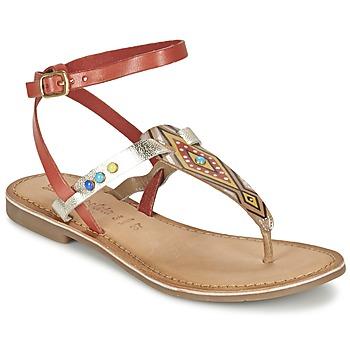 kengät Naiset Sandaalit ja avokkaat Lola Espeleta ELODIE Red / Silver
