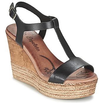 kengät Naiset Sandaalit ja avokkaat Lola Espeleta PATSY Black