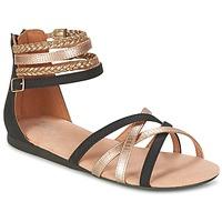 kengät Tytöt Sandaalit ja avokkaat Bullboxer REVILZOA Black / Gold