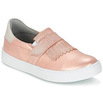 kengät Tytöt Tennarit Bullboxer ADJAGUE Pink / Kulta