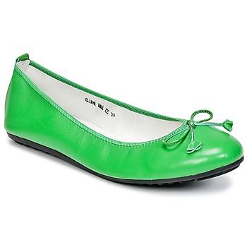 kengät Naiset Balleriinat Mac Douglas ELIANE Green