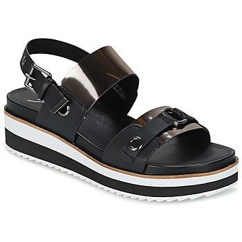 kengät Naiset Sandaalit ja avokkaat Coolway DOLPHIN Black