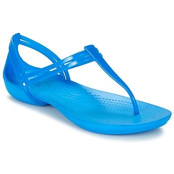 kengät Naiset Sandaalit ja avokkaat Crocs CROCS ISABELLA T-strap Sininen