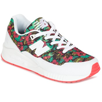 kengät Naiset Matalavartiset tennarit New Balance W530 Green / Red