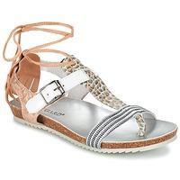 kengät Naiset Sandaalit ja avokkaat Regard RABALU White / Beige