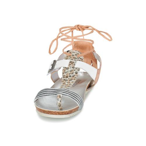 Regard Rabalu White / Beige - Ilmainen Toimitus- Kengät Sandaalit Naiset 79