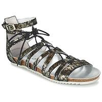 kengät Naiset Sandaalit ja avokkaat Regard RABAZO Black / Silver