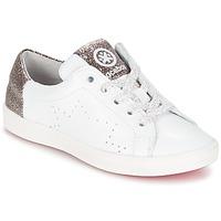 kengät Tytöt Matalavartiset tennarit Acebo's SOUDIN White