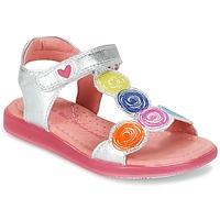kengät Tytöt Sandaalit ja avokkaat Agatha Ruiz de la Prada BIDINETTE Argenté
