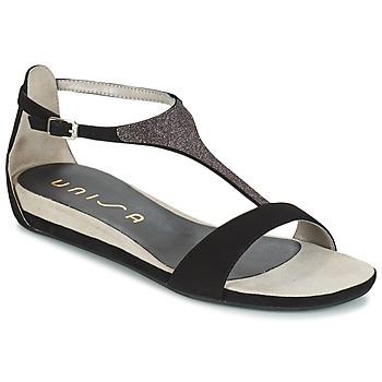 kengät Naiset Sandaalit ja avokkaat Unisa APICE Black