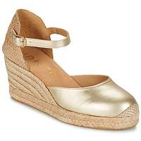 kengät Naiset Sandaalit ja avokkaat Unisa CACERES Argenté