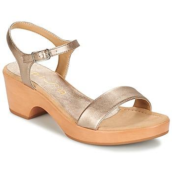 kengät Naiset Sandaalit ja avokkaat Unisa IRITA Gold